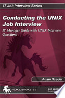 Conducting the Unix Job Interview