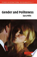 Gender and Politeness