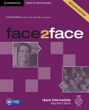 Face2face Upper Intermediate  2nd ed   Teacher s Book with DVD ROM