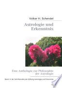 Astrologie und Erkenntnis   Eine Anthologie zur Philosophie der Astrologie