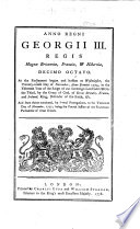 XVIII. Geo. III. c. 2. Anno regni Georgii III. ... decimo octavo, etc. (An act for granting an Aid to His Majesty by a Land Tax, to be raised in Great Britain, for the Service of the Year One thousand seven hundred and seventy-eight. B.L.