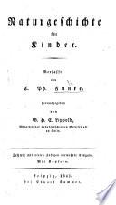Naturgeschichte für Kinder ... herausgegeben von G. H. C. Lippold. Zehnte ... vermehrte Ausgabe