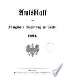 Amtsblatt der Königlichen Regierung zu Cassel