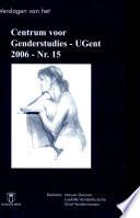 Verslagen van het RUG-centrum voor genderstudies 15