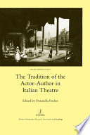 The Tradition of the Actor author in Italian Theatre