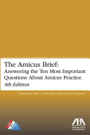 The Amicus Brief