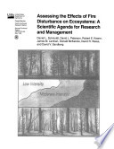 Assessing the Effects of Fire Disturbance on Eco-Systems