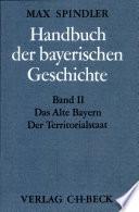 Handbuch der bayerischen Geschichte
