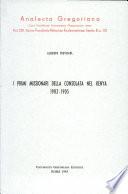 I primi missionari della Consolata nel Kenya  1902 1905