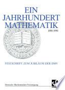 Ein Jahrhundert Mathematik 1890 – 1990