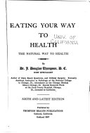Eating Your Way to Health Book PDF