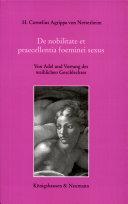 De nobilitate et praecellentia foeminei sexus