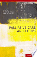 Palliative Care And Ethics