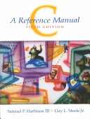 C  a Reference Manual Book PDF