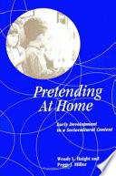 Pretending at Home Book PDF
