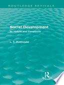 Social Development  Routledge Revivals
