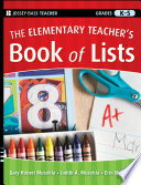 The Elementary Teacher s Book of Lists
