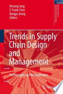 Trends In Supply Chain Design And Management book