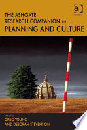 The Ashgate Research Companion to Planning and Culture