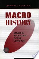 Macrohistory