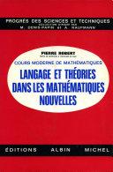 Langage et théories dans les mathématiques nouvelles