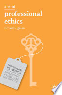 A Z of Professional Ethics