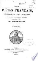 Petits poëtes français: (678 p.)