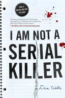I Am Not A Serial Killer-book cover