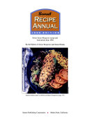 Sunset Recipe Annual 1995