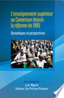 illustration L'enseignement superieur au Cameroun depuis la reforme de 1993
