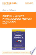 Mosby S Pharmacology Memory Notecards E Book