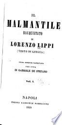 Il Malmantile racquistato di Lorenzo Lipṗi (testo di lingua).
