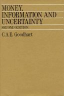 Money  Information  and Uncertainty