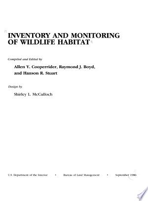 Inventory and Monitoring of Wildlife Habitat