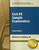 Civil PE Sample Examination