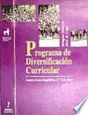 Programa de diversificaci  n curricular