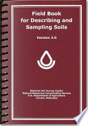 Field Book For Describing And Sampling Soils book