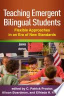 Teaching Emergent Bilingual Students