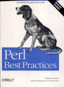Perl - best practices : die deutsche Ausgabe ; [Standards für guten Perl-Code]