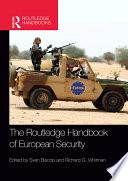 The Routledge Handbook Of European Security book