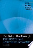 The Oxford Handbook of International Antitrust Economics