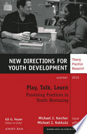 Play  Talk  Learn  Promising Practices in Youth Mentoring