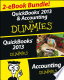 QuickBooks 2013 & Accounting For Dummies eBook Set For One Low Price This