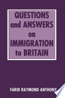 Questions and Answers on Immigration in Britain