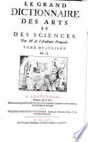 Le Grand Dictionnaire Des Arts Et Des Sciences