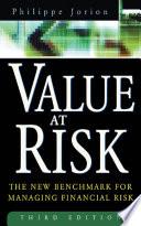 Value at Risk  3rd Ed
