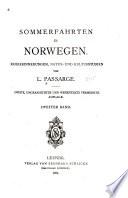 Sommerfahrten in Norwegen