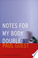 Notes for My Body Double Book PDF