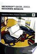 Microsoft Excel 2003  Nociones Basicas   Microsoft Excel 2003  Basic Notions