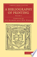 A Bibliography Of Printing book